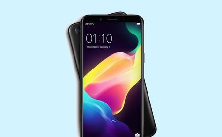 Oppo F5: un móvil de seis pulgadas en formato 18:9 y con cámara frontal de 20 megapíxeles que marcará tendencias
