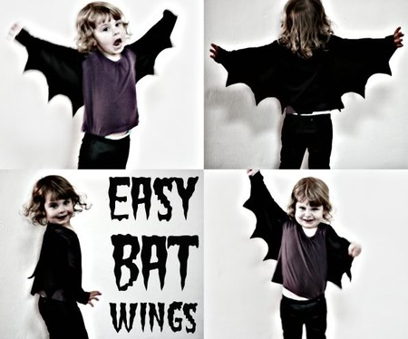 Disfraz Halloween Facil Barato Murcielago 3