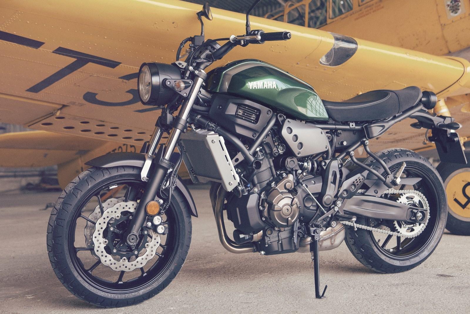 Foto de Yamaha XSR700 en acción y detalles (18/41)