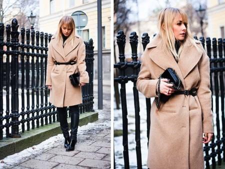 chaloth abrigo beige