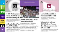 Newsly Reader, todas las noticias en tu Windows Phone