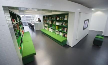 Espacios para trabajar: las oficinas de la agencia Langland
