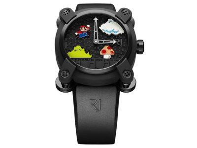 Mario, Tetris, Space Invaders o Pac-Man protagonizan la nueva colección de relojes de lujo de Romain Jerome