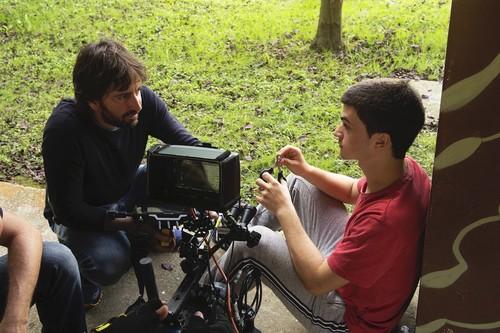 """""""Las road movies permiten ver dónde empieza y termina un viaje, pero en 'Diecisiete' quería ir al interior de los personajes"""". Daniel Sánchez Arévalo"""