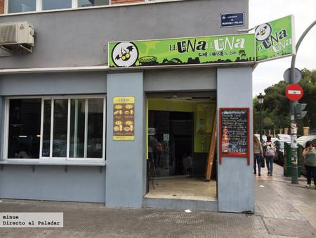 Lluna Lluna Bar en Valencia. Un buen cocinero en un mal sitio