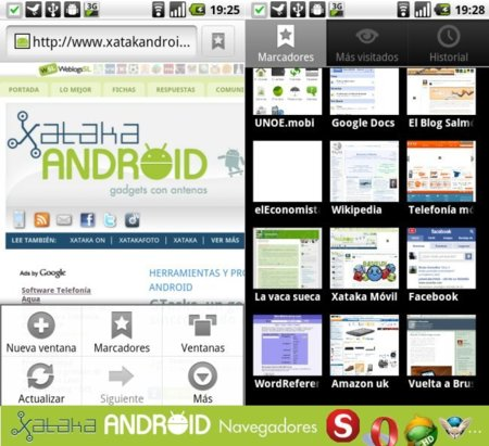 Navegadores en Android: Chrome