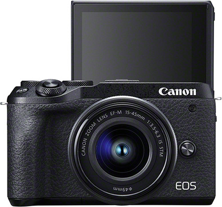 Eos M6 Mark Ii Bk Thefront Ef M15 45mm1 3 5 6 3isstm 2