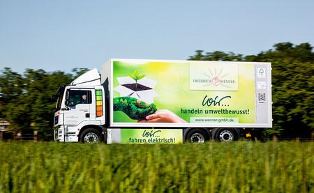 MAN eTGM, el camión eléctrico que ya trabaja para Alimerka