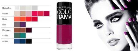Maybelline relanza los esmaltes de uñas Colorama