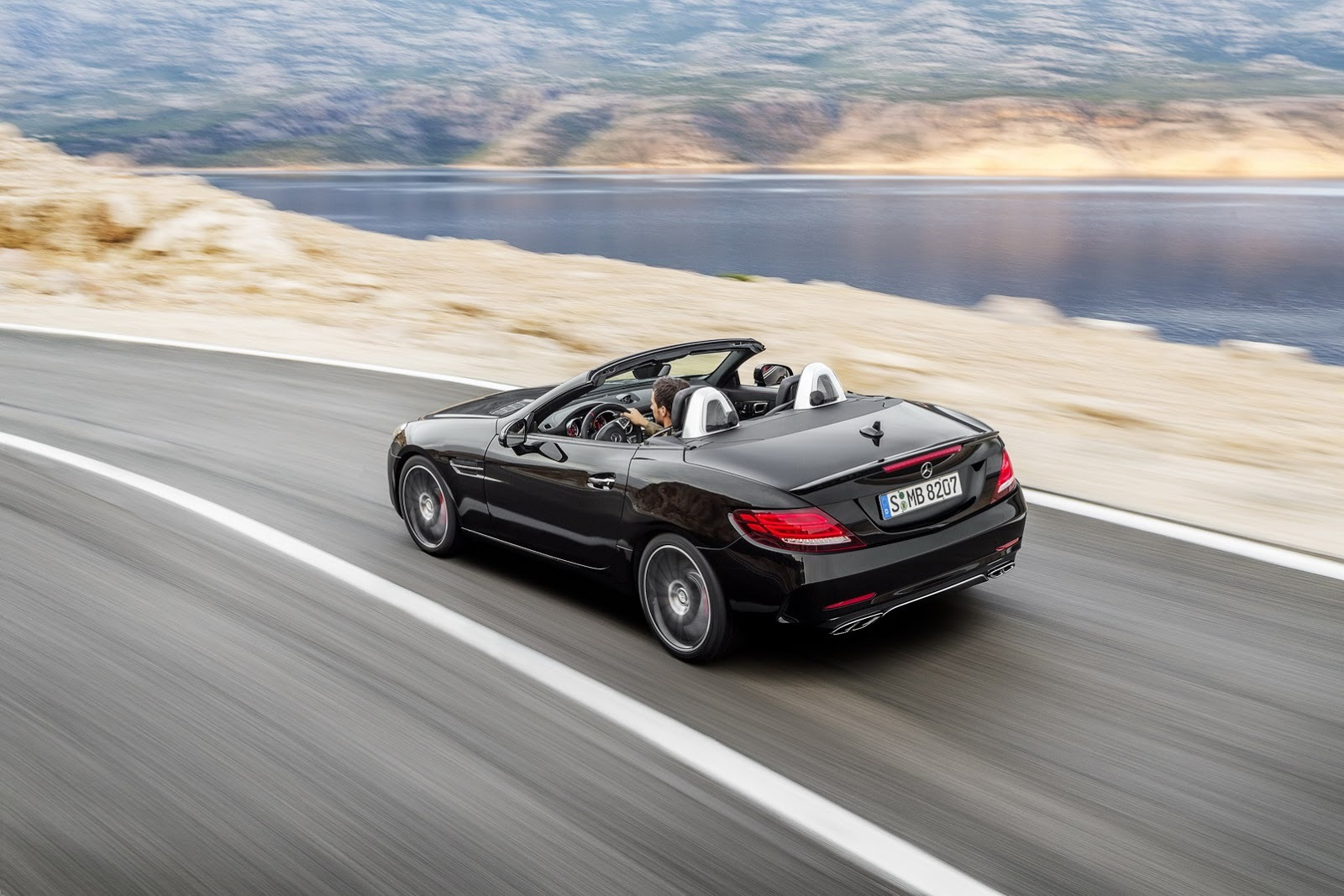 Foto de Mercedes-Benz SLC 2017 (12/17)
