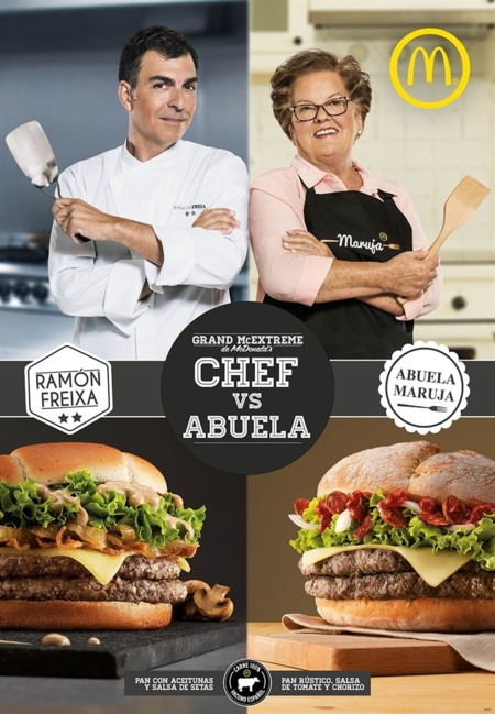 Chef Vs Abuela Mcdonals