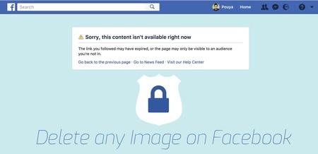 Un bug en las nuevas encuestas de Facebook permitía que cualquiera pudiese borrar tus fotos