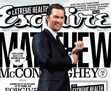 Hay que ver lo bien que le sienta el traje a Matthew McConaughey