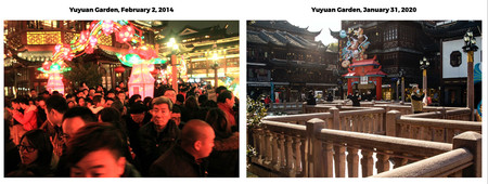 Yuyuan Garden Before And