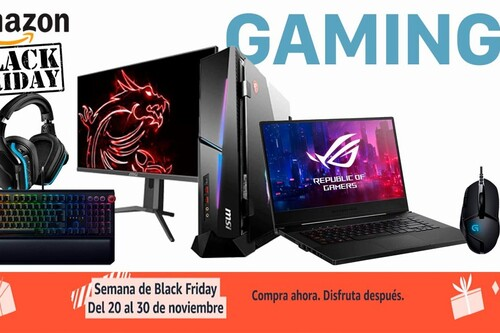 Las 58 mejores ofertas en portátiles, sobremesa, monitores y periféricos gaming de la semana del Black Friday 2020