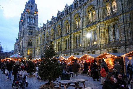 mercados navidad londres