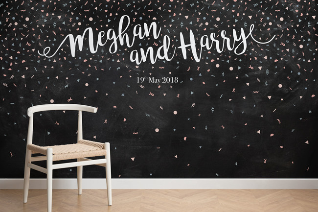 Personalised Confetti Chair Web