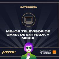 Mejor televisor de gama de entrada y media: vota en los Premios Xataka Orange 2021