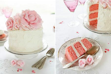 Pastel de San Valentín de Divino Macaron