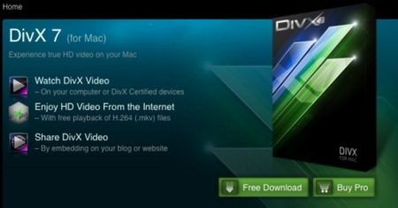 DivX 7 para Mac OS X ya disponible