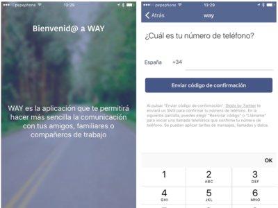 WAY, la aplicación que convierte nuestra ubicación en el pilar de una red de mensajería