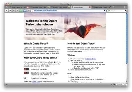 Opera 10 Turbo