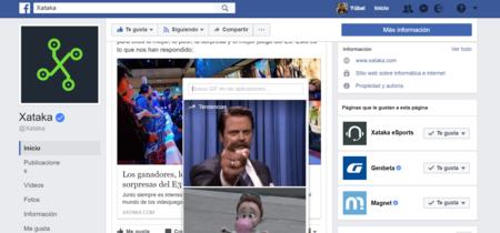 Cómo comentar en Facebook utilizando GIFs