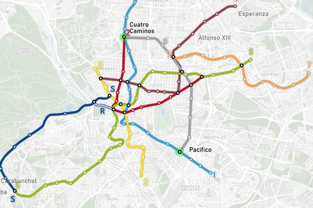 La evolución del Metro de Madrid desde 1919 hasta nuestros días, contada en un mapa interactivo