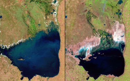 13 imágenes desde el espacio que explican cómo estamos cambiando el planeta