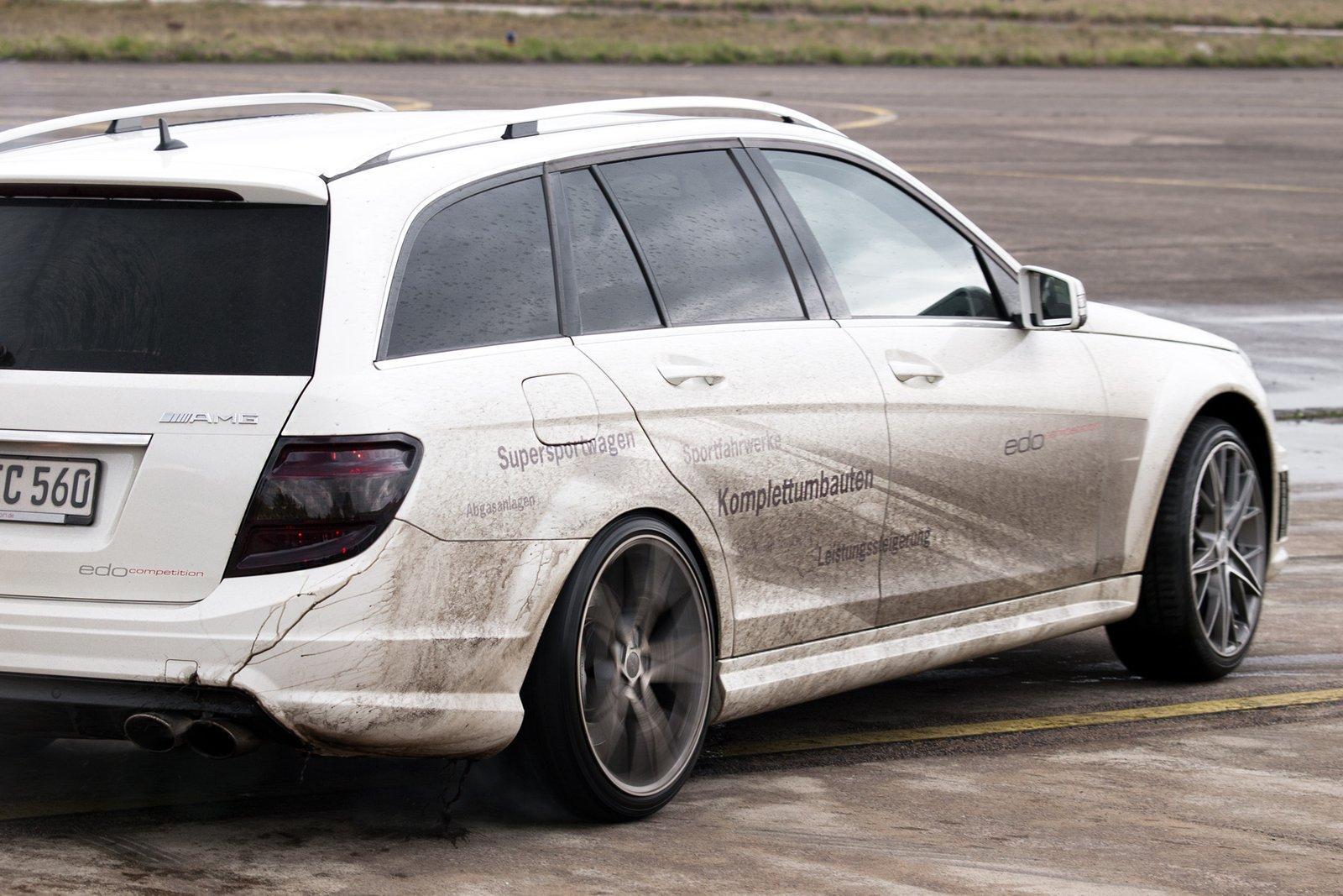 Foto de Mercedes C63 AMG Wagon por Edo Competition (10/16)