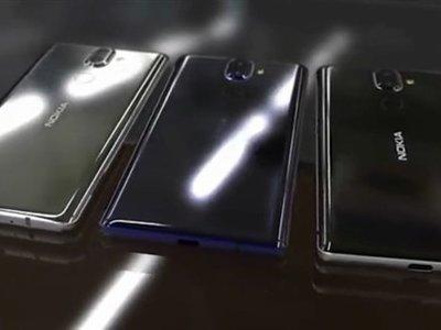 El Nokia 9 y el Nokia 8 (2018) podrían llegar en enero con un nuevo diseño y sin el Snapdragon 845