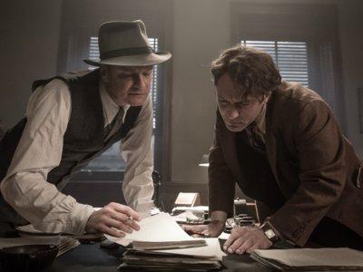 'Genius', tráiler y cartel del interesante drama con Jude Law, Colin Firth y Nicole Kidman