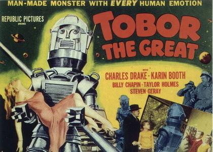 'Tobor, el Grande', pequeño y modesto film de Sci-Fi