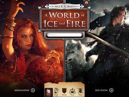 'A World of Ice and Fire', llega la app oficial de 'Canción de hielo y fuego'
