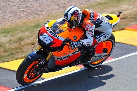MotoGP Alemania 2010: Aplastante victoria de Dani Pedrosa en Sachsenring con detención de carrera incluída
