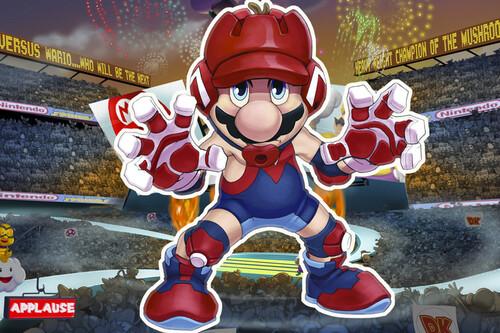 Super Mario Spikers, el juego de Nintendo que acabó cancelado porque Yoshi hacía un suplex y Waluigi le pisaba el pecho a Mario
