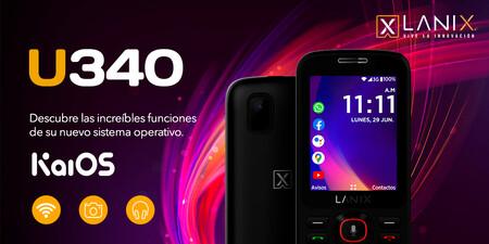 Lanix U340 precio oficial mexicano