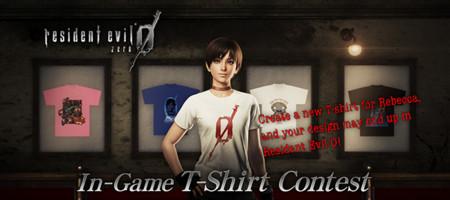 ¡Saca al diseñador que llevas dentro! Capcom anuncia un concurso para crear la camiseta de Rebecca Chambers en Resident Evil Zero HD