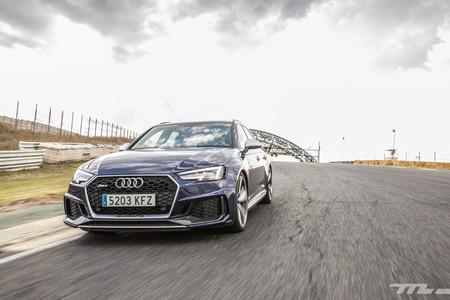 Audi RS4 2018 Prueba 9
