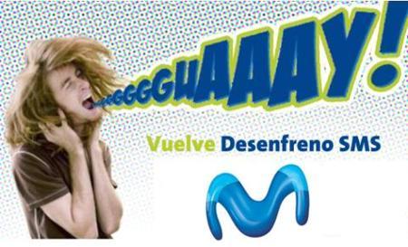 Vuelve desenfreno SMS a Movistar