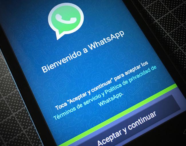 Whatsapp Bienvenido
