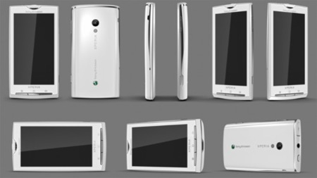 Sony Ericsson Rachael Xperia X3