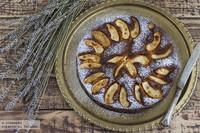 Pastel de manzana y ron. Receta sin gluten