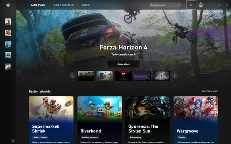 Nueva Xbox App Windows 10