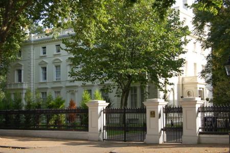 La calle más cara de Londres, y seguramente del mundo