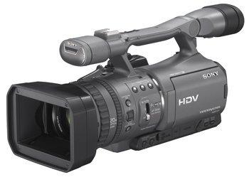 Sony HSR-FX7, graba a 1080i