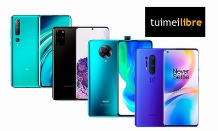 Smartphones rebajados en tuimeilibre: los nuevos Samsung Galaxy Note 20, el Galaxy S20, el Xiaomi Mi 10 o el iPhone 11 te salen más baratos en estas ofertas