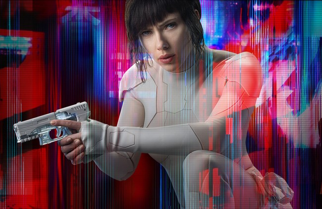 Poster Ghost Shell Alma Maquina