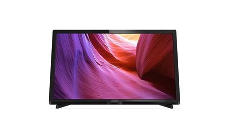 Philips 24PHH4000, una TV pequeña y muy básica, por sólo 136 euros en PCComponentes