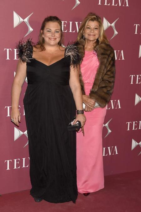 Caritina Goyanes y Cari Lapique en la entrega de premios T de Telva